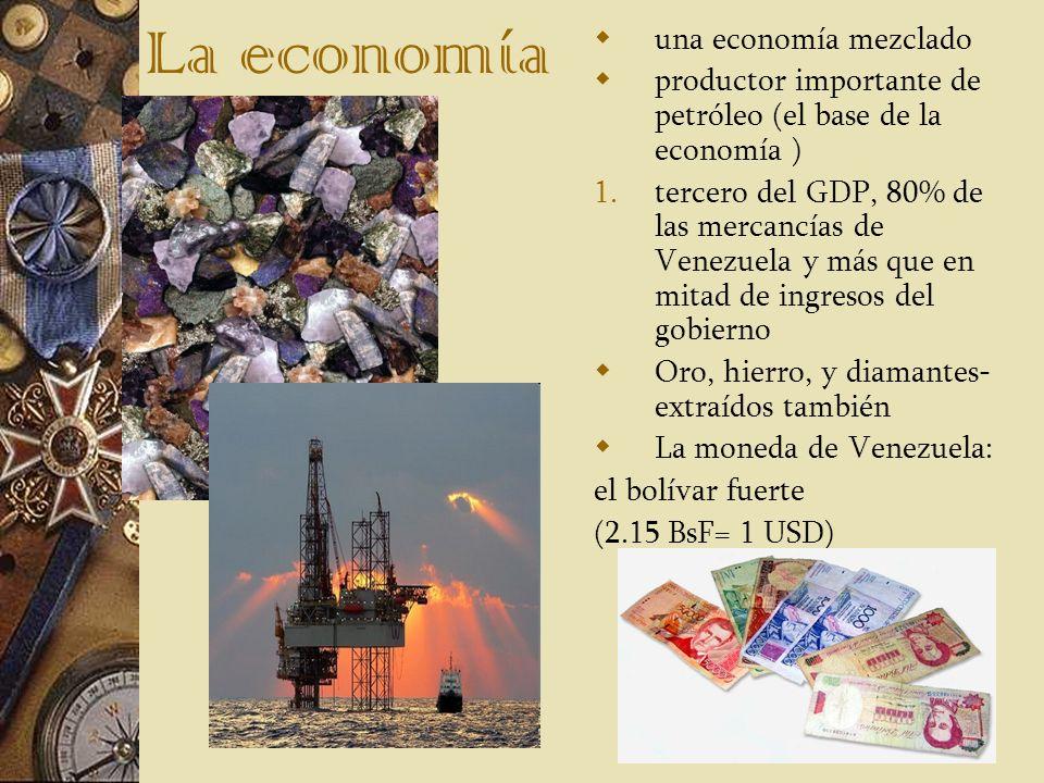La economía una economía mezclado
