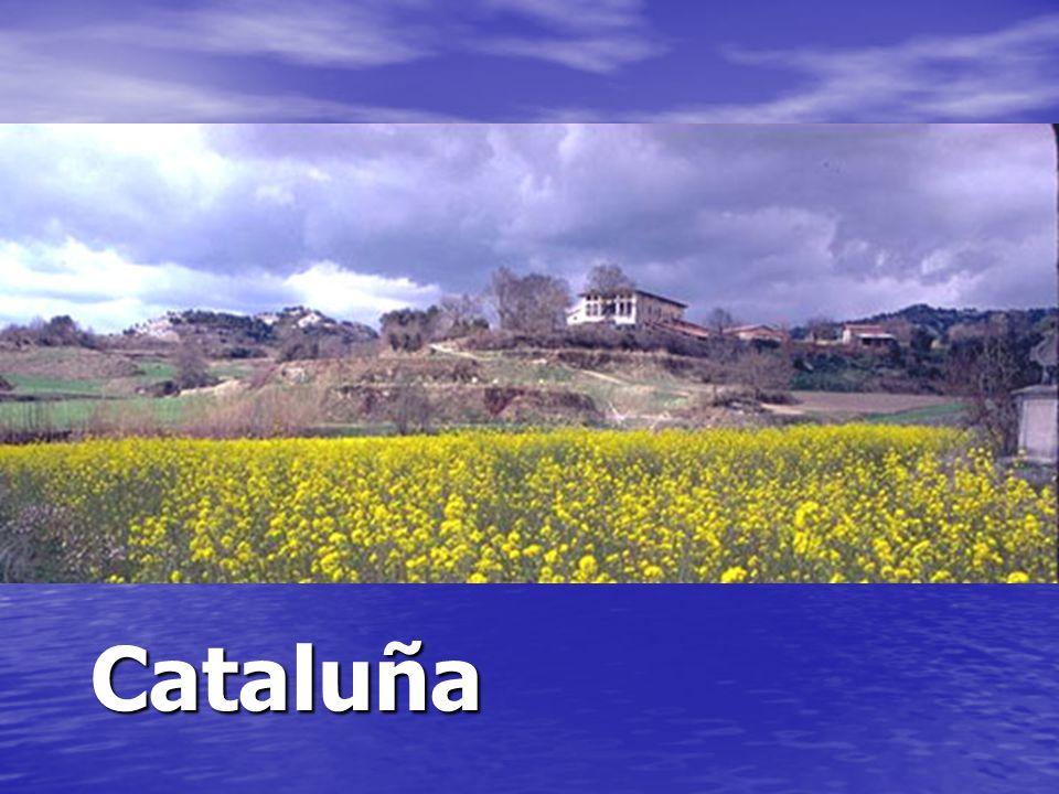 Una masía es una casa grande de una granja en Cataluña