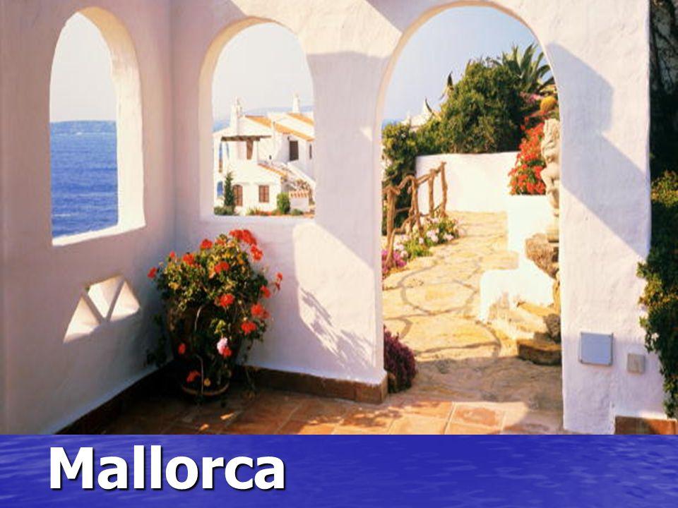 Una casa en Mallorca. ¿Qué mar es