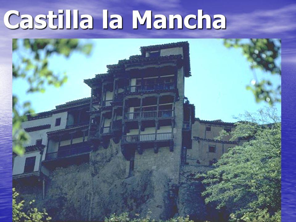 Castilla la Mancha La ciudad de Cuenca está al lado de un río.