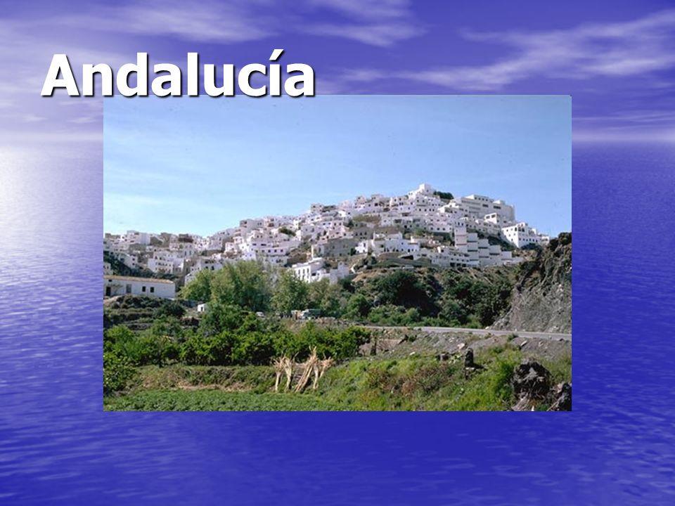 Andalucía ¿Por qué son todas blancas las casas.