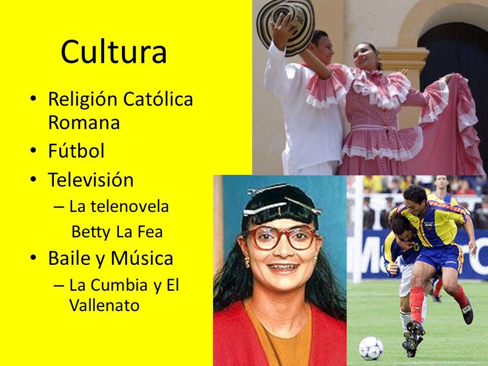Cultura Religión Católica Romana Fútbol Televisión Baile y Música