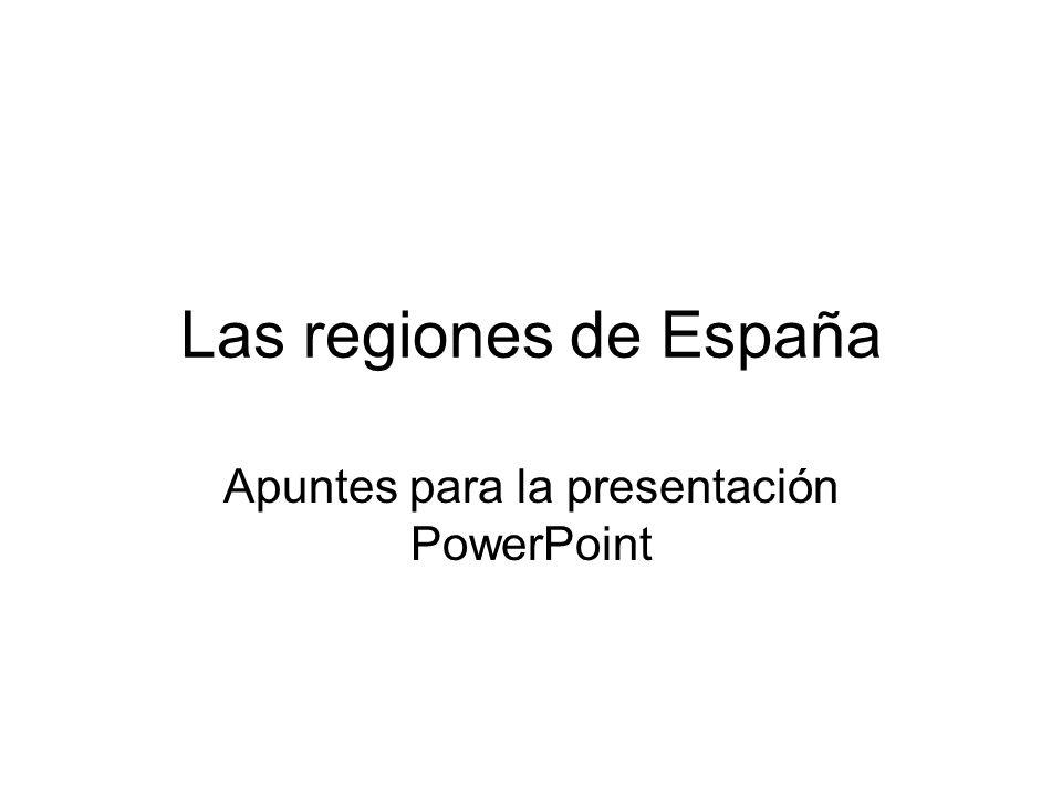 Apuntes para la presentación PowerPoint