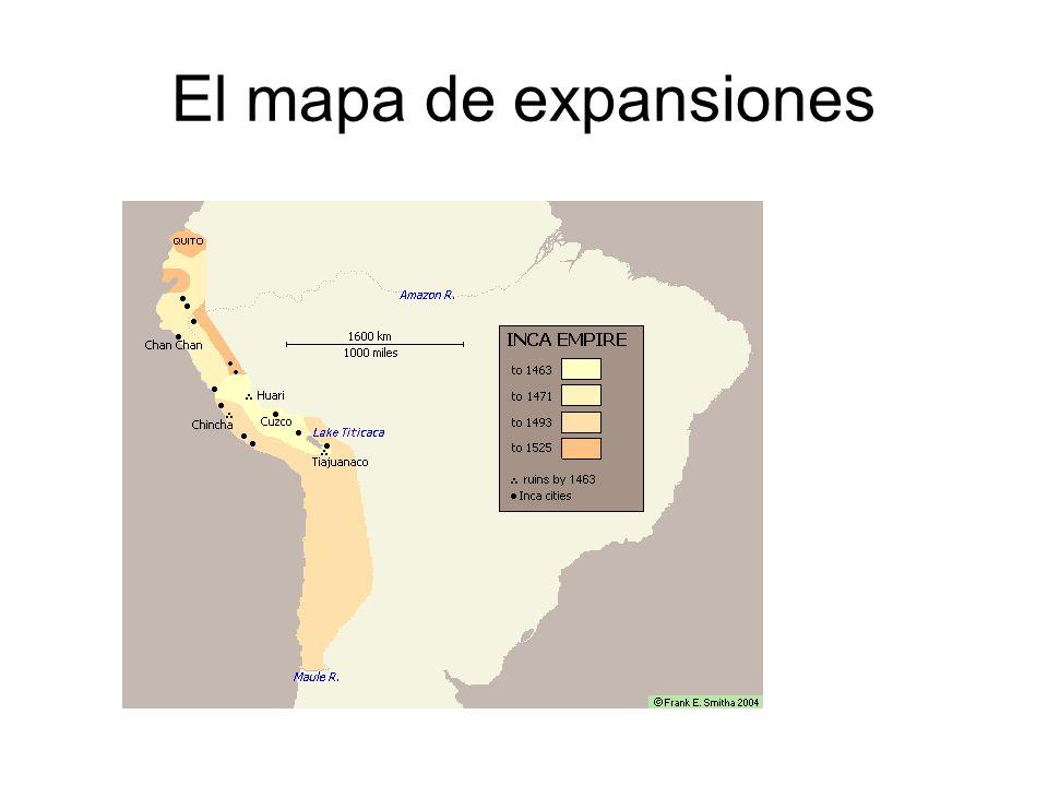 El mapa de expansiones