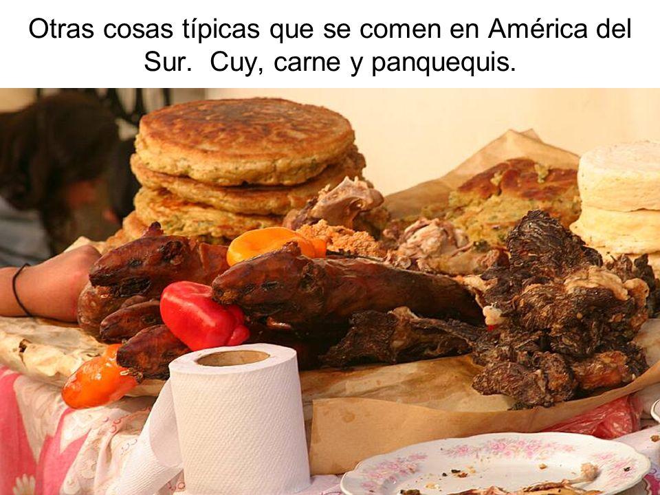 Otras cosas típicas que se comen en América del Sur