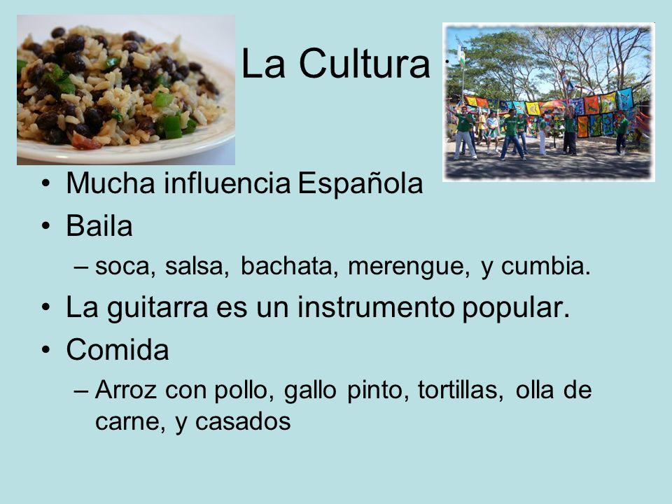 La Cultura Mucha influencia Española Baila