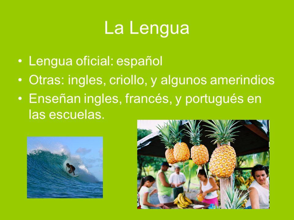 La Lengua Lengua oficial: español