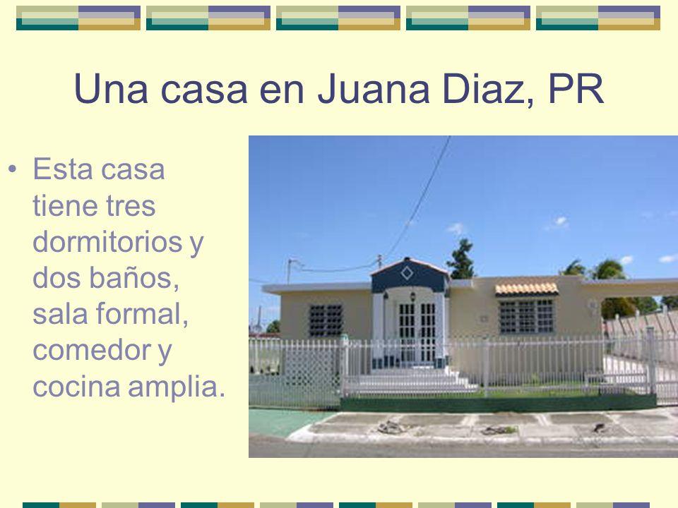 Una casa en Juana Diaz, PR