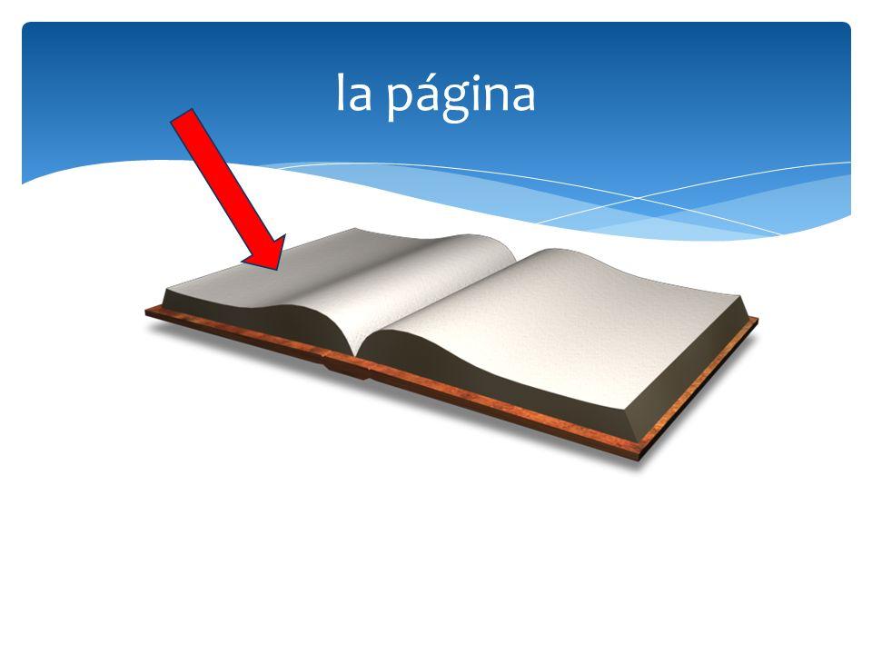 la página