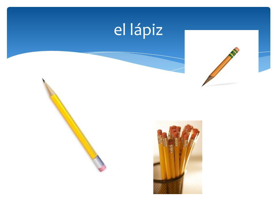 el lápiz