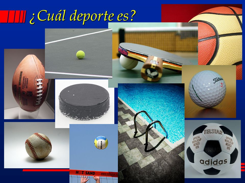 ¿Cuál deporte es