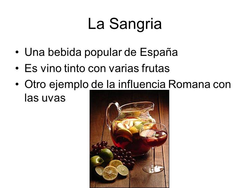 La Sangria Una bebida popular de España