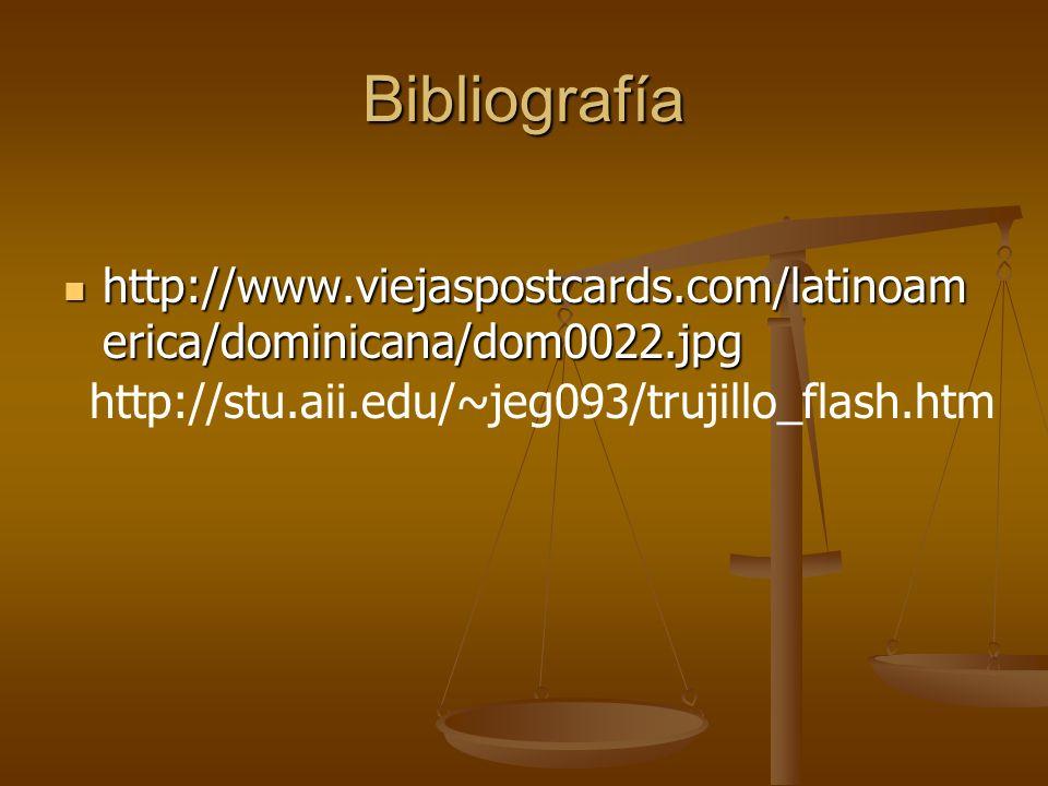 Bibliografía http://www.viejaspostcards.com/latinoamerica/dominicana/dom0022.jpg.