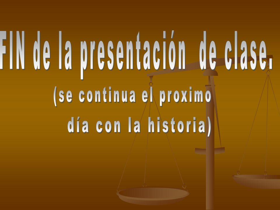 FIN de la presentación de clase.