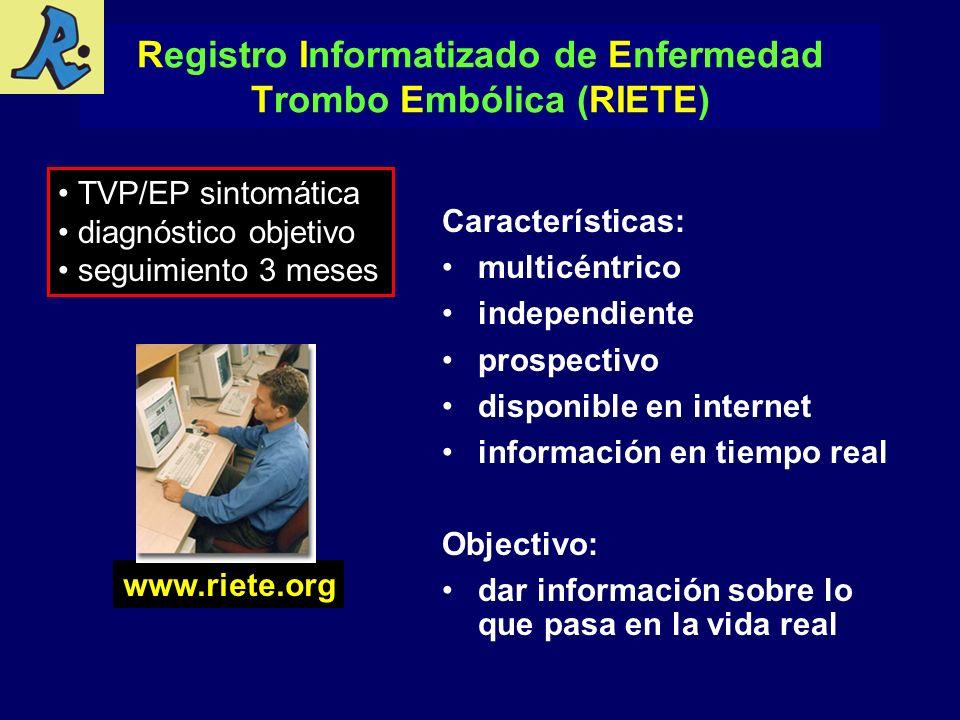 Registro Informatizado de Enfermedad Trombo Embólica (RIETE)