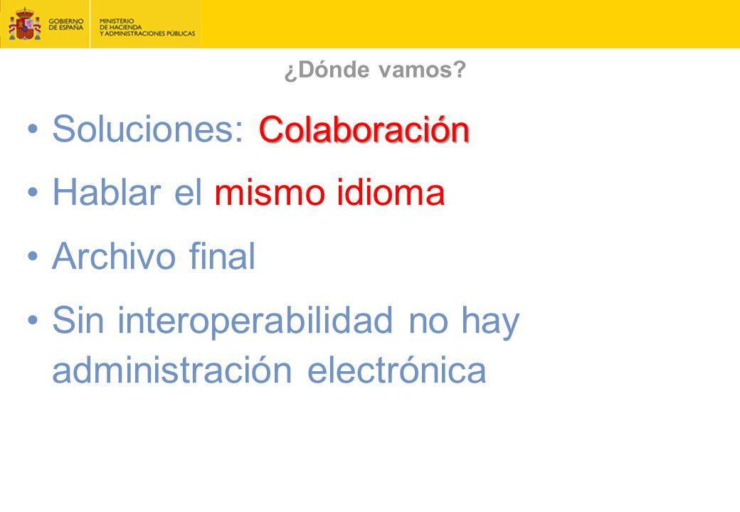 Soluciones: Colaboración Hablar el mismo idioma Archivo final