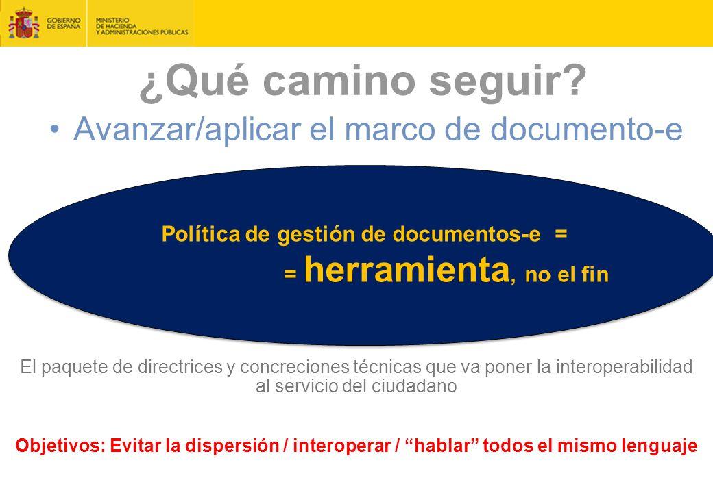 Política de gestión de documentos-e =