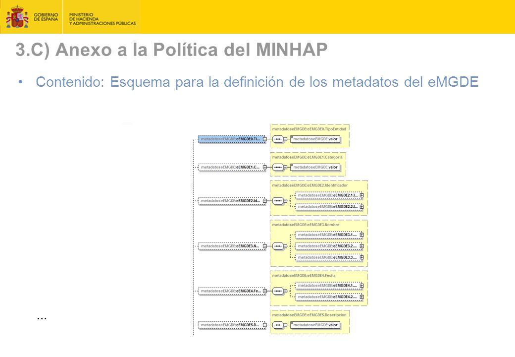 3.C) Anexo a la Política del MINHAP