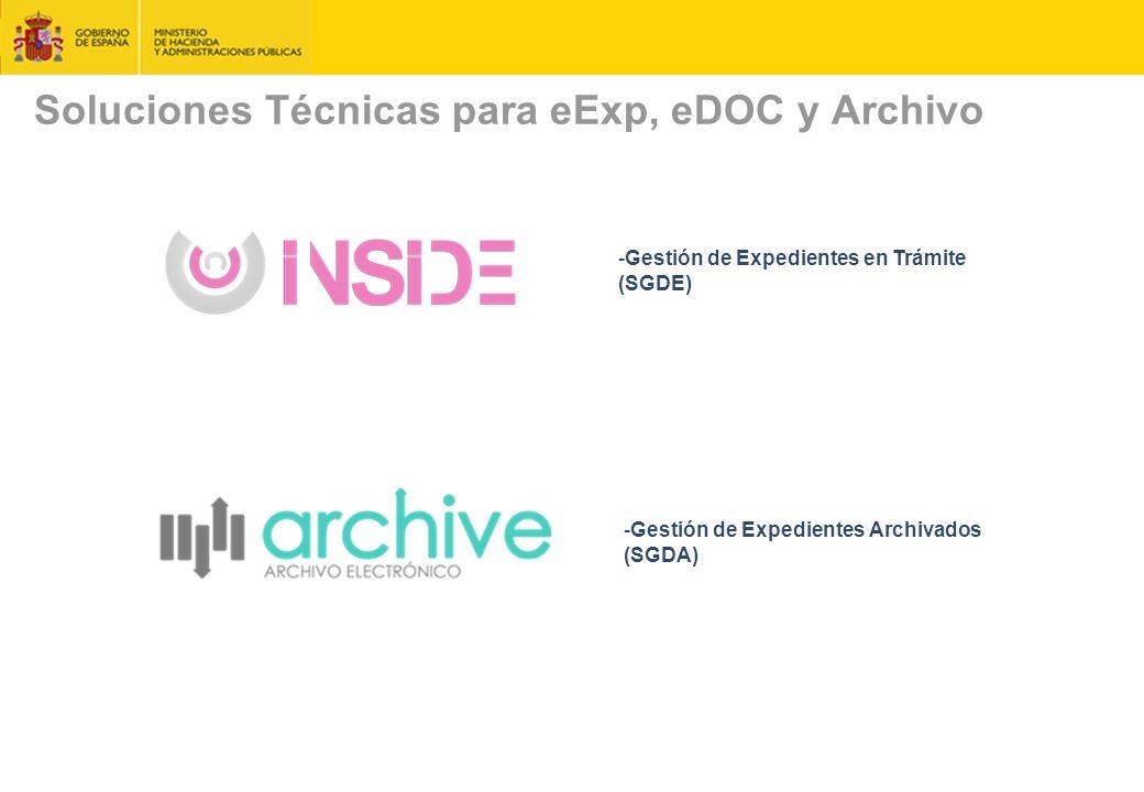 Soluciones Técnicas para eExp, eDOC y Archivo