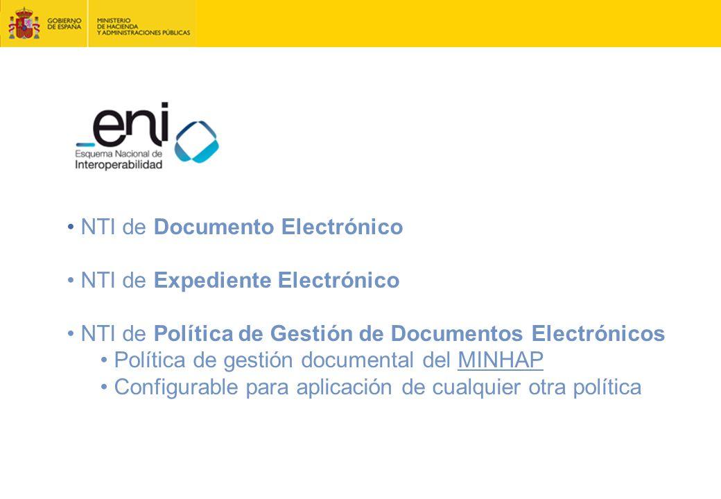 NTI de Documento Electrónico