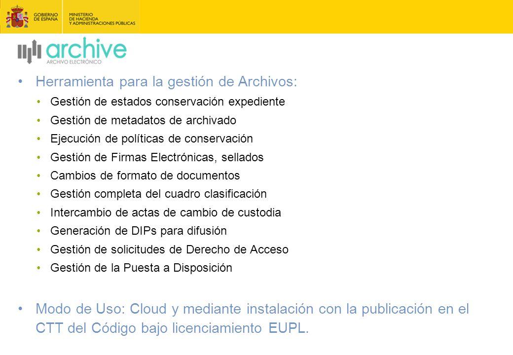 Herramienta para la gestión de Archivos:
