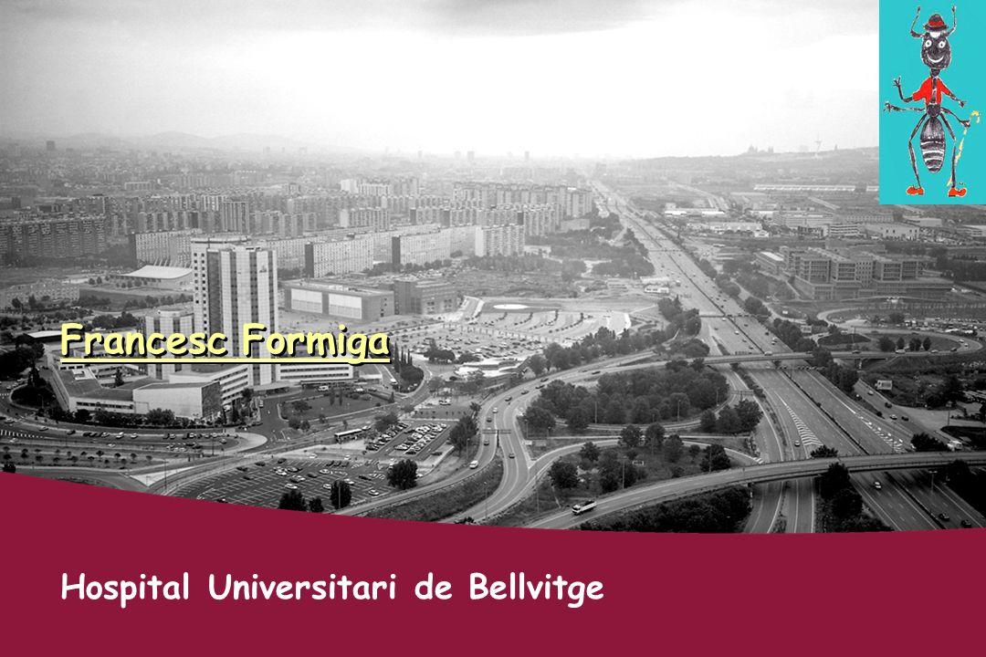 Francesc Formiga Hospital Universitari de Bellvitge