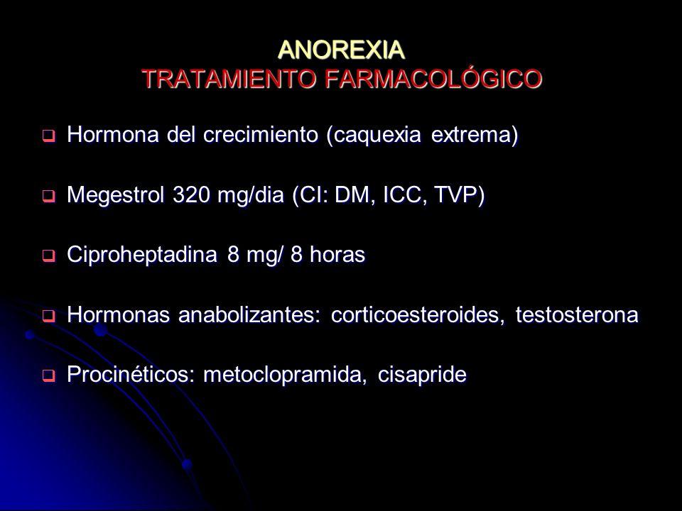 ANOREXIA TRATAMIENTO FARMACOLÓGICO