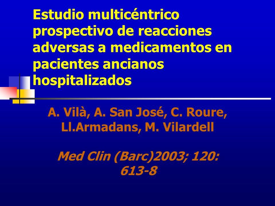 A. Vilà, A. San José, C. Roure, Ll.Armadans, M. Vilardell