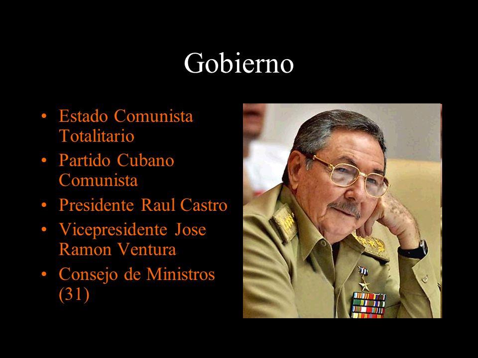Gobierno Estado Comunista Totalitario Partido Cubano Comunista