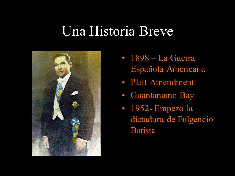 Una Historia Breve 1898 – La Guerra Española Americana Platt Amendment