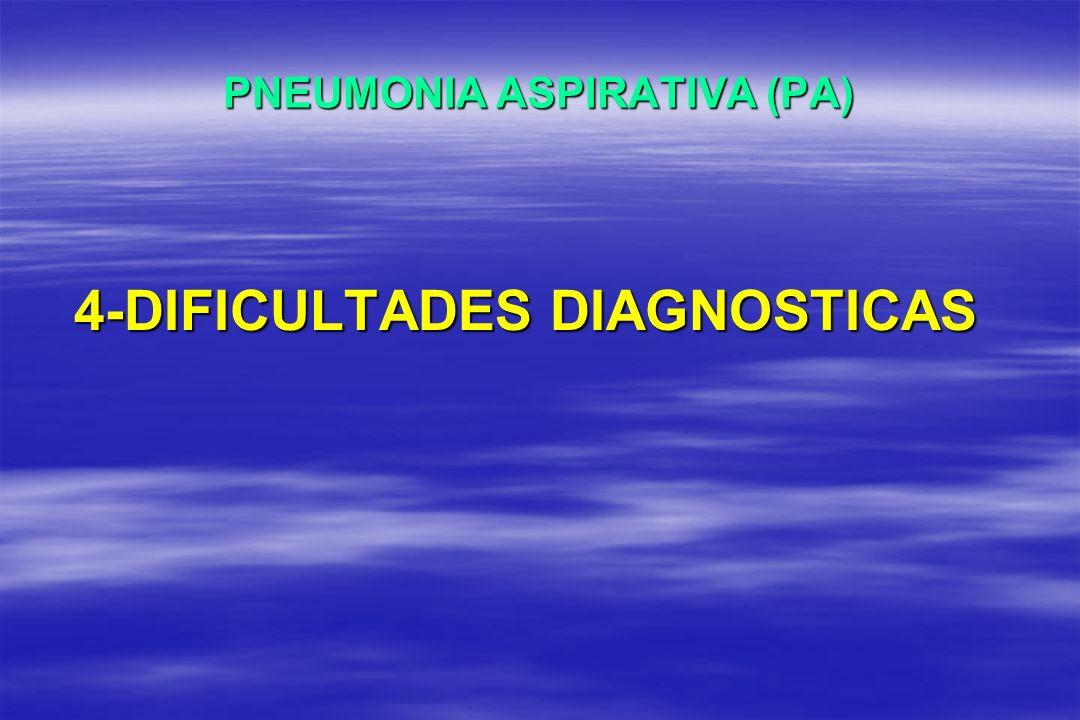 PNEUMONIA ASPIRATIVA (PA)