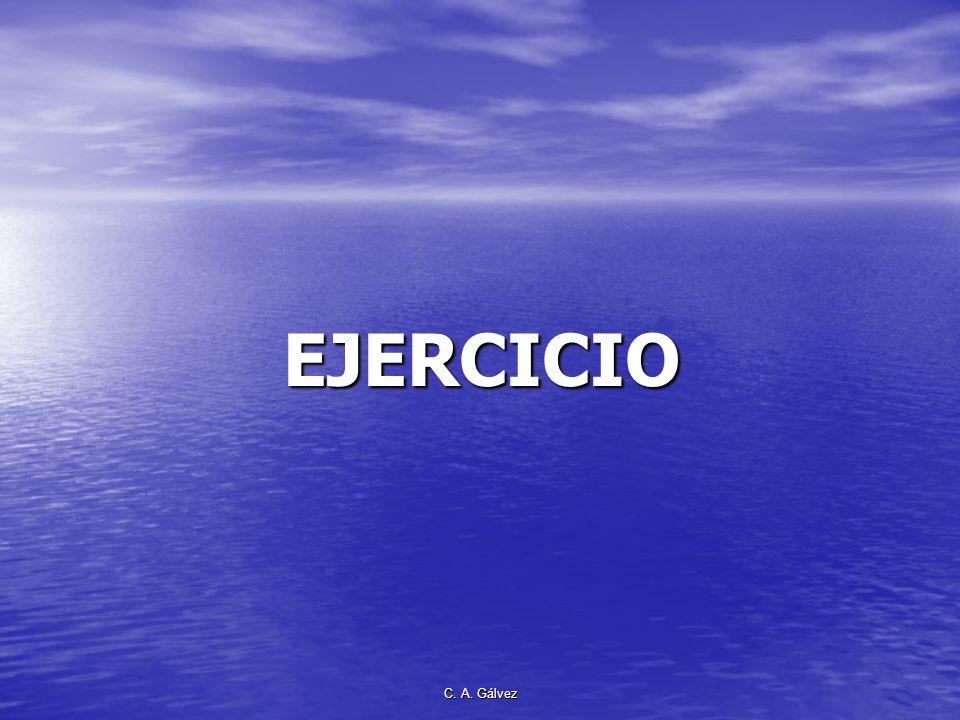 EJERCICIO C. A. Gálvez