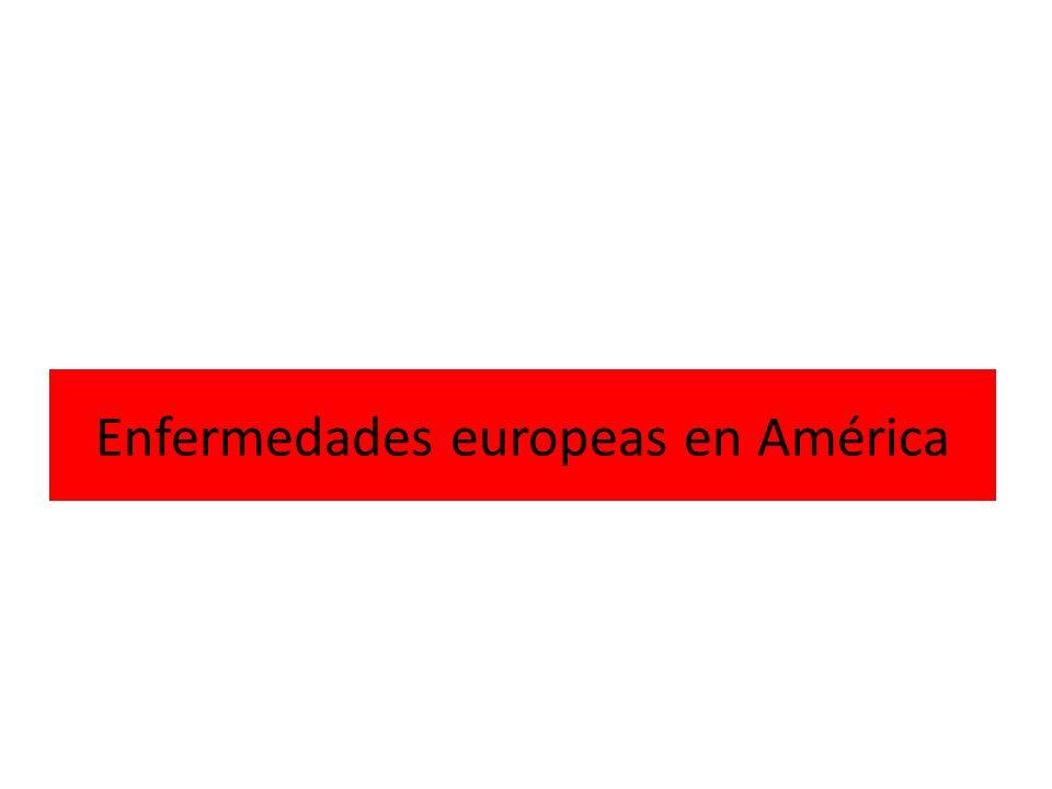 Enfermedades europeas en América