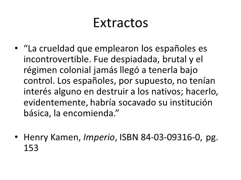 Extractos