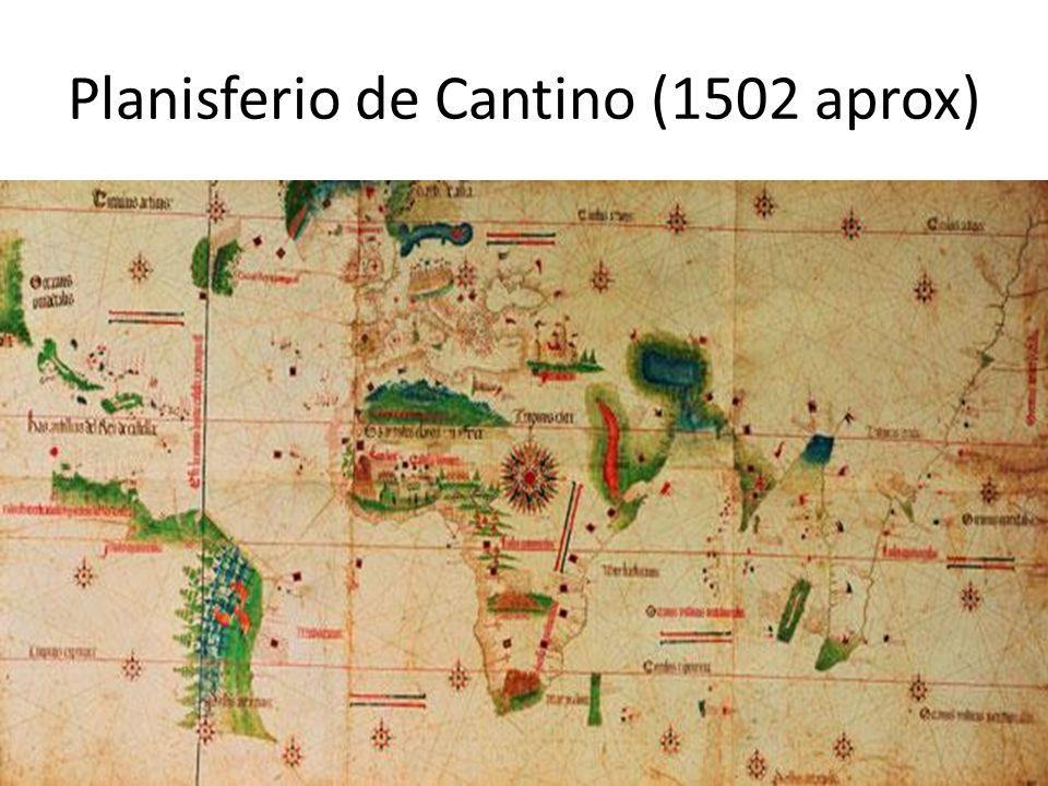 Planisferio de Cantino (1502 aprox)