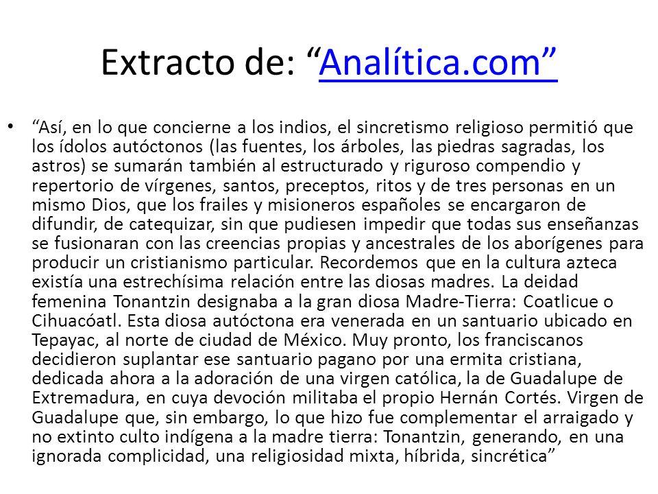 Extracto de: Analítica.com
