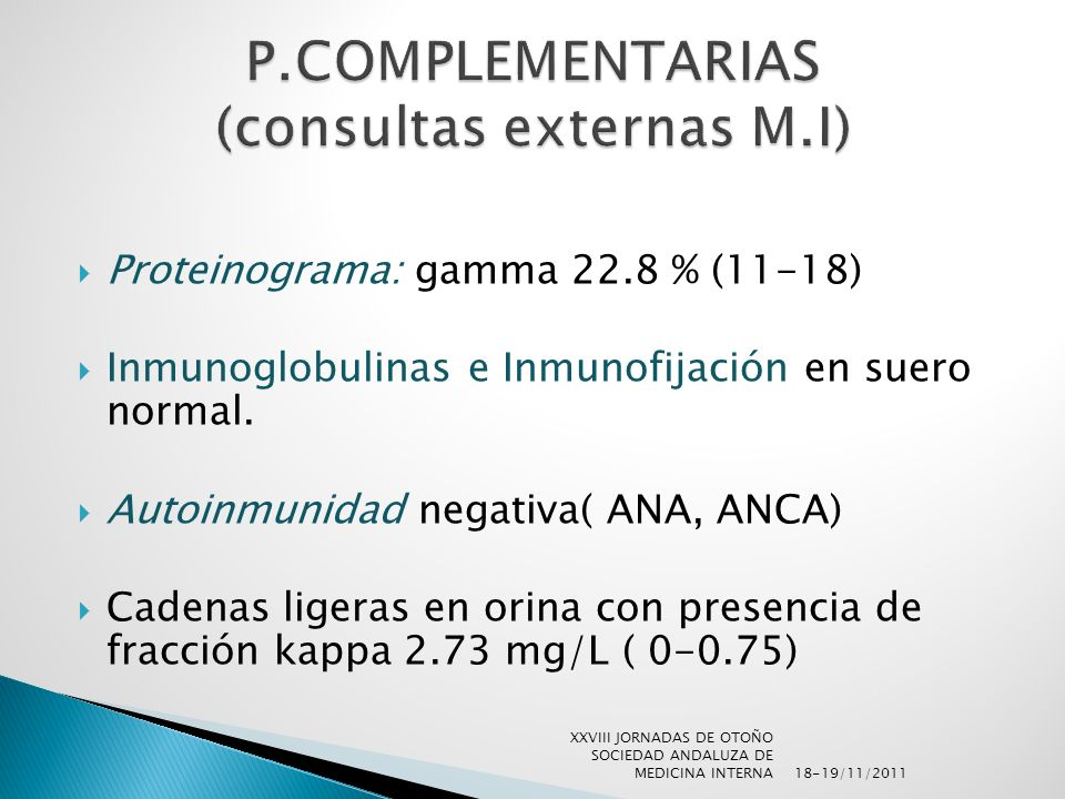 P.COMPLEMENTARIAS (consultas externas M.I)