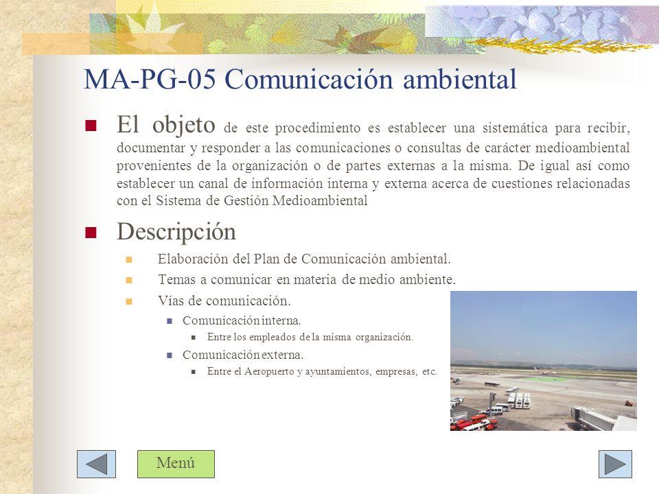 MA-PG-05 Comunicación ambiental