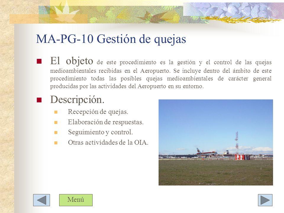 MA-PG-10 Gestión de quejas