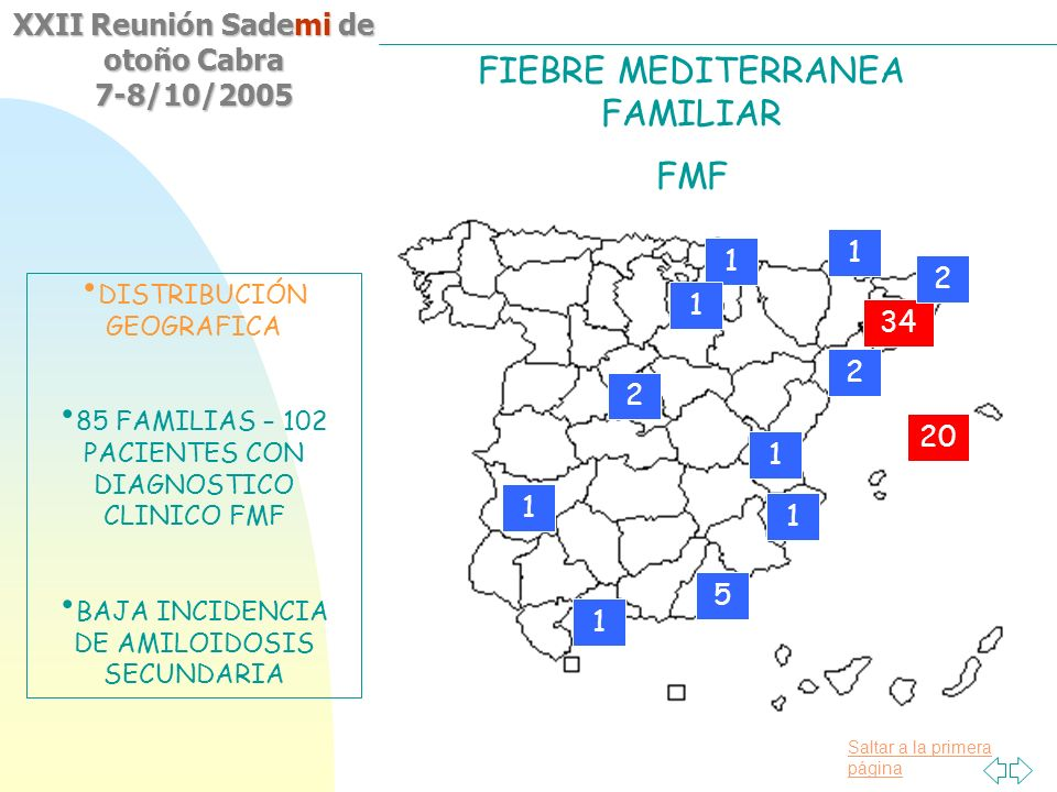 FIEBRE MEDITERRANEA FAMILIAR FMF