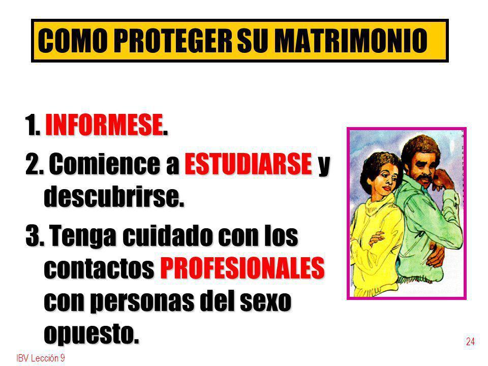 COMO PROTEGER SU MATRIMONIO