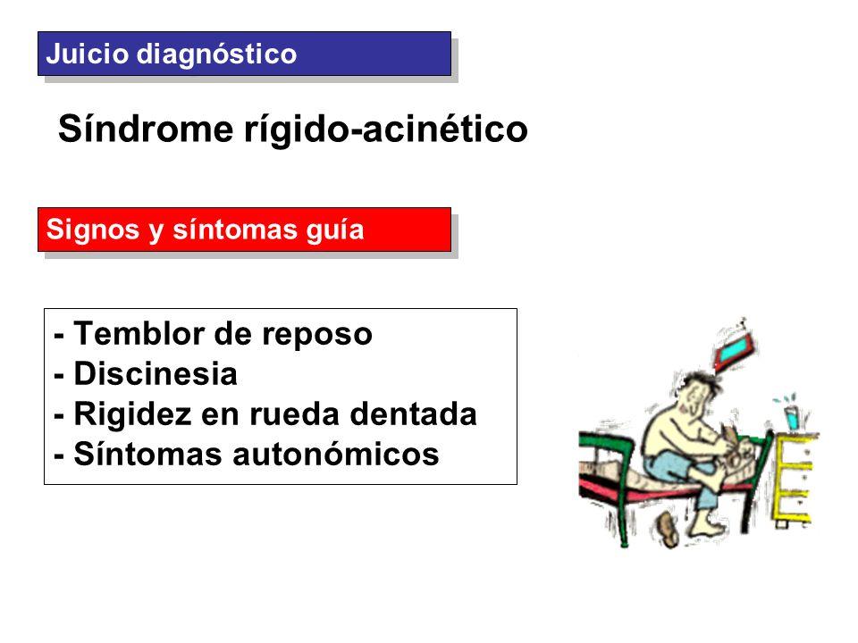 Síndrome rígido-acinético