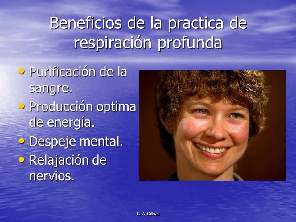 Beneficios de la practica de respiración profunda