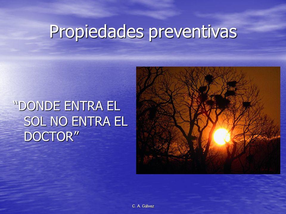 Propiedades preventivas