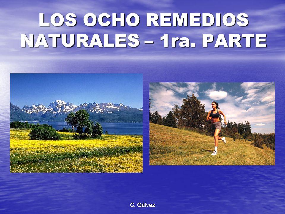 LOS OCHO REMEDIOS NATURALES – 1ra. PARTE