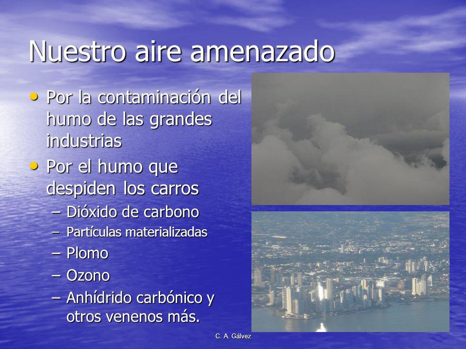 Nuestro aire amenazado