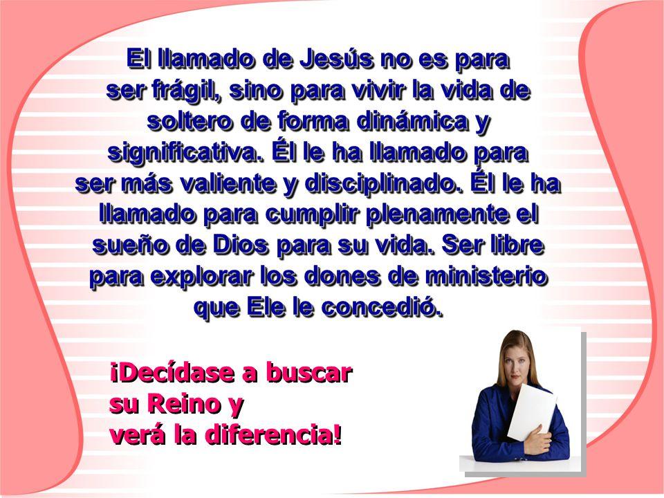 El llamado de Jesús no es para