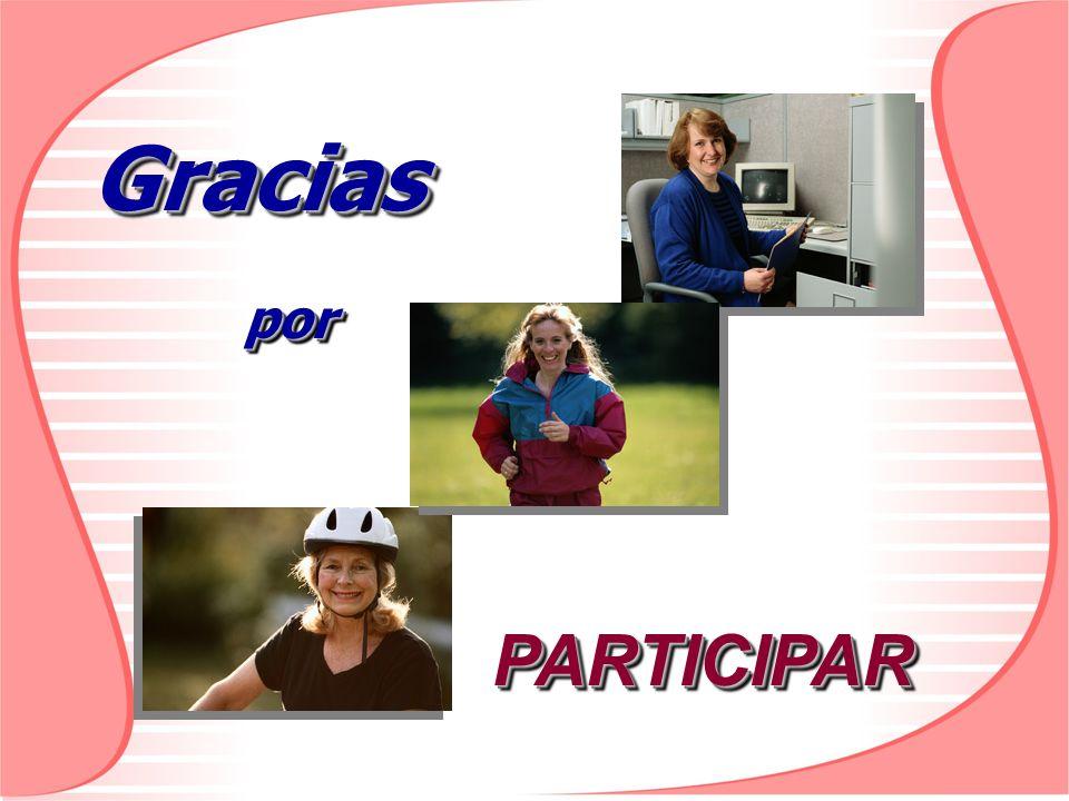 Gracias por PARTICIPAR
