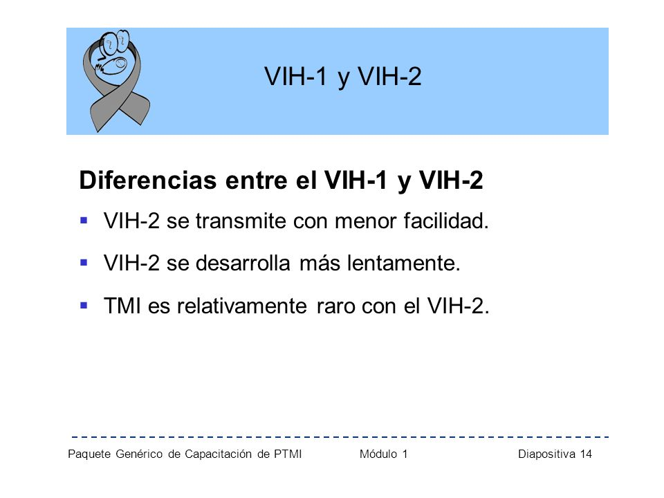 Diferencias entre el VIH-1 y VIH-2
