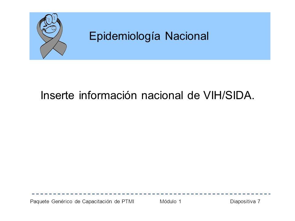 Epidemiología Nacional